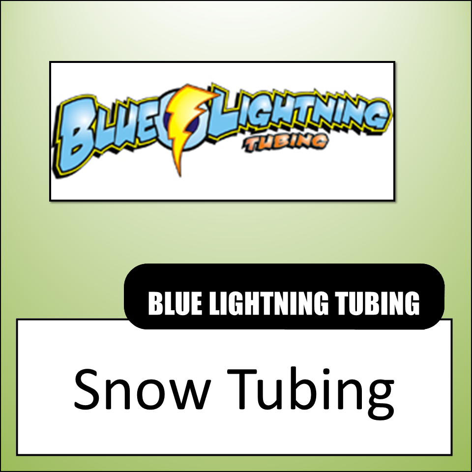 Blue Lightning Tubing