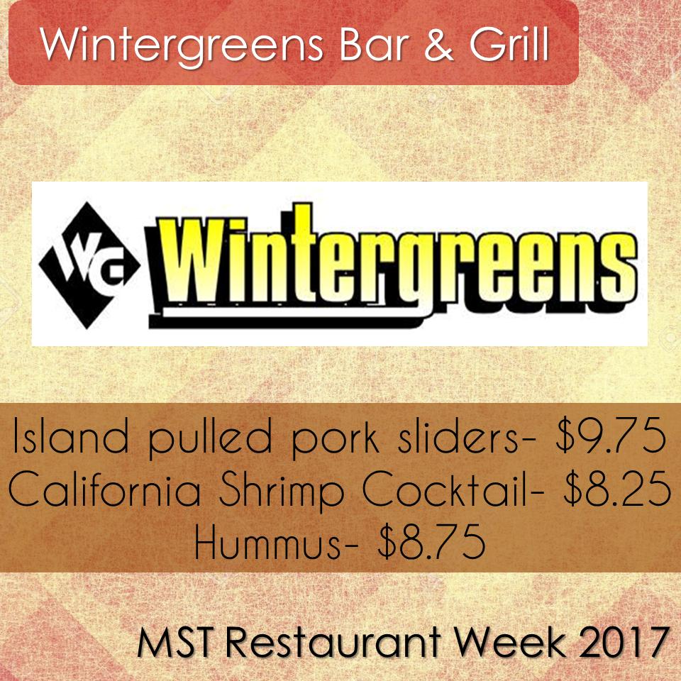 Wintergreens Patio Grill