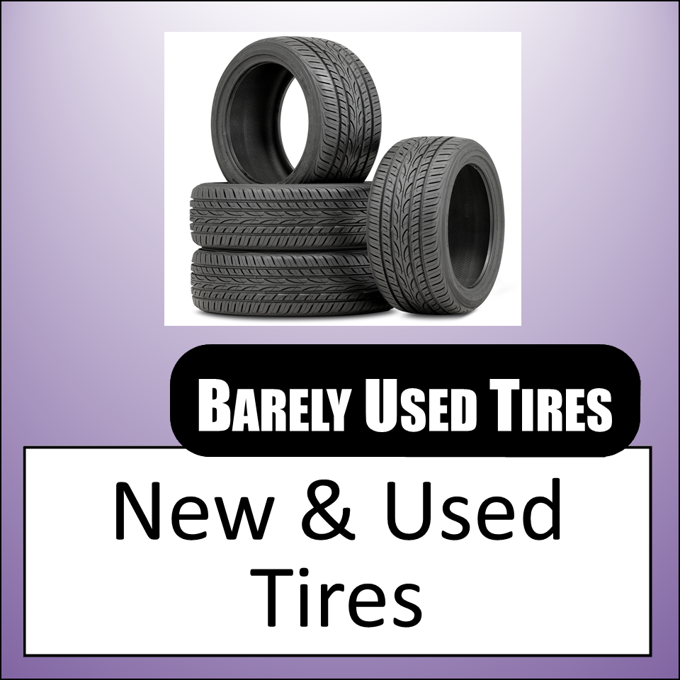 Barely Used Tires