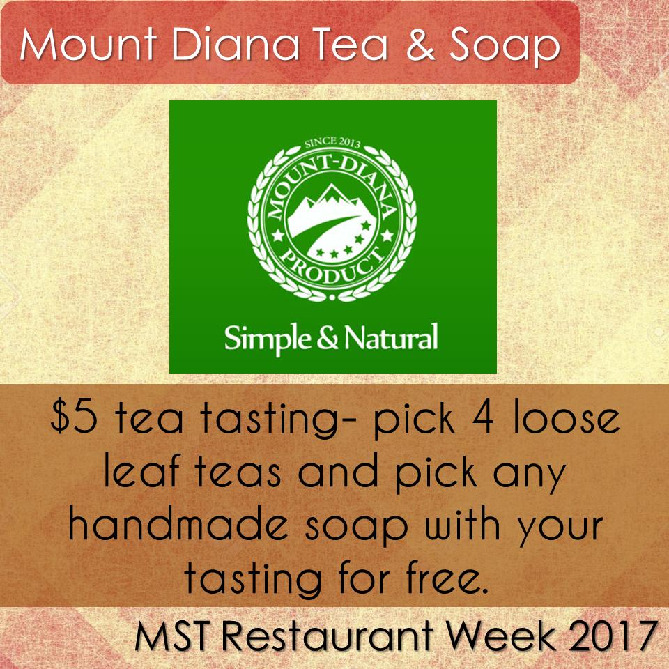 Mount Diana Tea & Soap